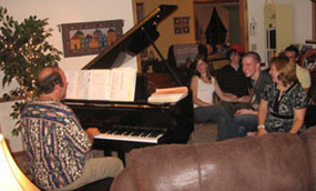 Private in-home Party Piano Entertainment