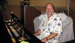 Joe has entertained on piano for many private events at the Hotel Bethlehem.