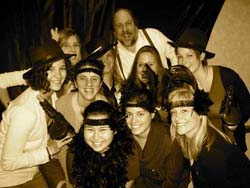 An Old-Time Photo from Old Time Speakeasy Honky Tonk Piano Party Entertainment!